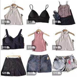 Tops - Women's clothing lot- 80 pcs